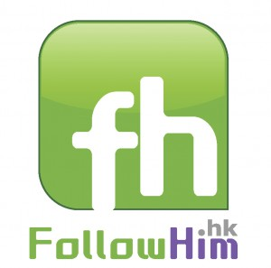 Follow HIM logo cut